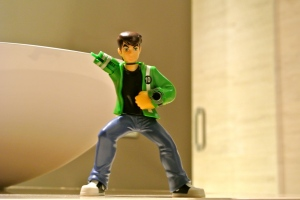 Ben 10 on the lookout